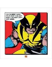 Wolverine I'm The Best - plakat premium