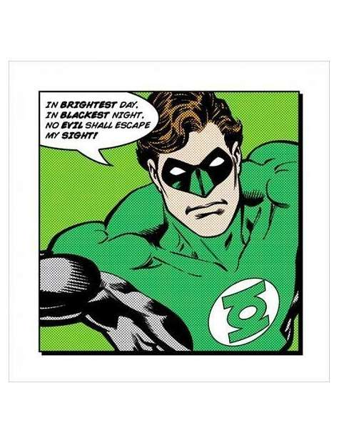 Green Lantern Brightest Day - plakat premium