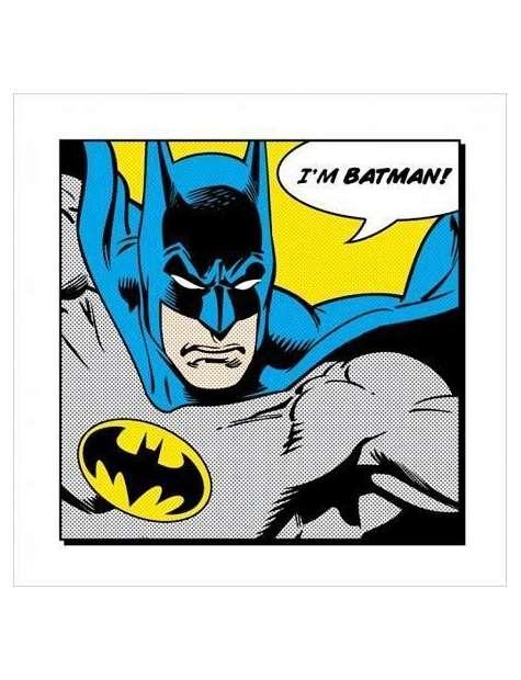 Batman I'm Batman - plakat premium