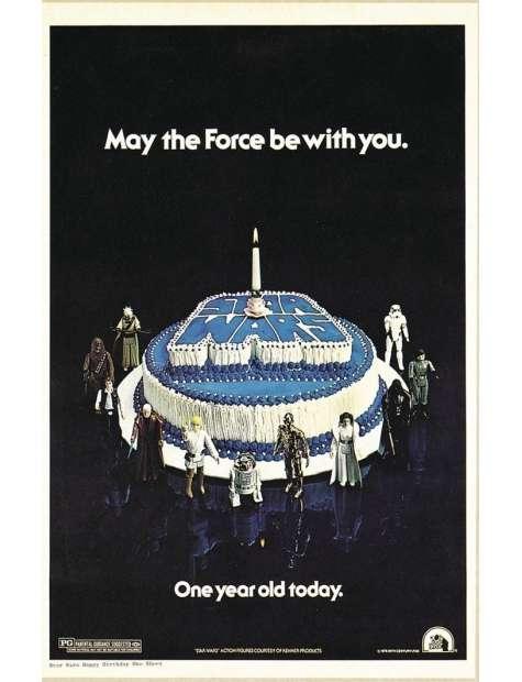 Star Wars Gwiezdne Wojny Pierwsze Urodziny - plakat