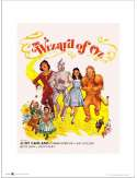 The Wizard of Oz Yellow Brick Road - plakat premium