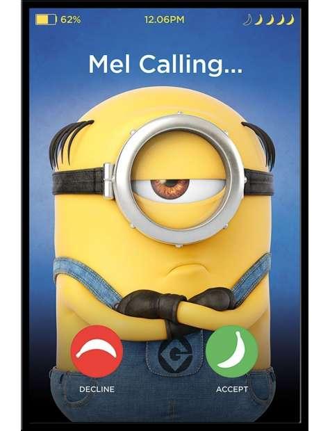 Gru, Dru i Minionki Mel Calling - plakat filmowy