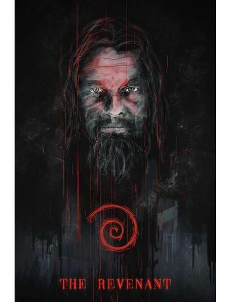 Zjawa Leonardo DiCaprio - plakat premium