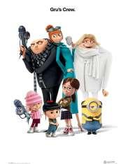 Gru, Dru i Minionki - plakat z bajki