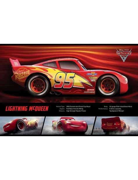 Auta 3 Zygzak McQueen - plakat filmowy
