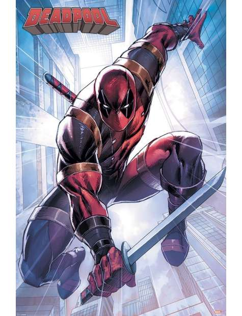 Deadpool - plakat filmowy