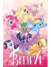 My Little Pony Movie Believe - plakat filmowy