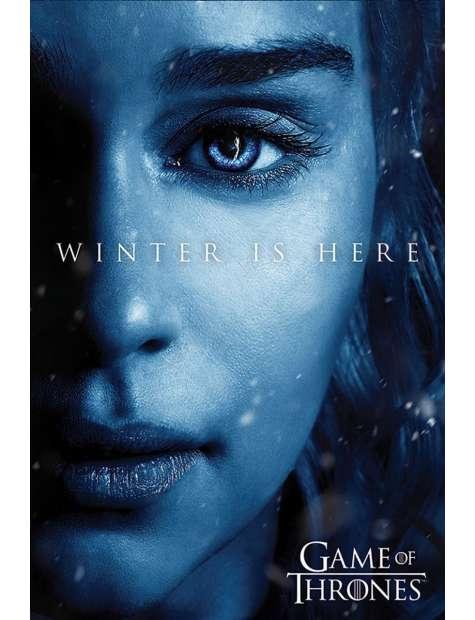 Gra o Tron Winter is Here Daenerys Targaryen - plakat