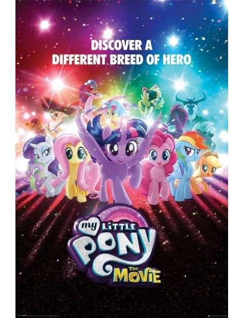 My Little Pony Film - plakat bajkowy