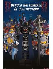 LEGO® Ninjago Movie Garmadon Destruction - plakat bajkowy