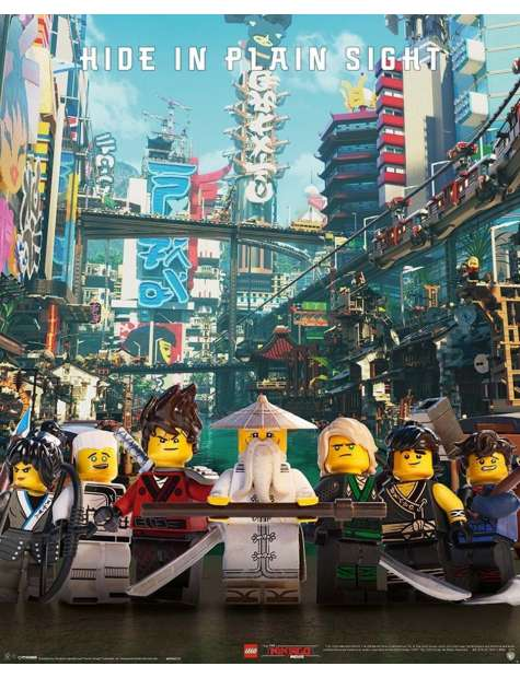 LEGO® Ninjago Movie Hide In Plain Sight - plakat filmowy