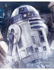 Star Wars Gwiezdne Wojny Ostatni Jedi R2-D2 - plakat