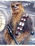 Star Wars Gwiezdne Wojny Ostatni Jedi Chewbacca Bowcaster - plakat