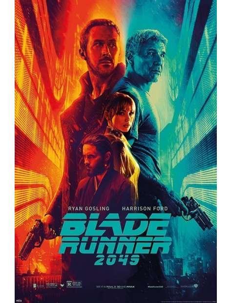 Blade Runner 2049 Fire & Ice - plakat