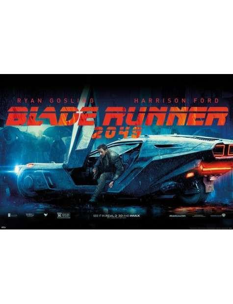 Blade Runner 2049 Flying Car - plakat