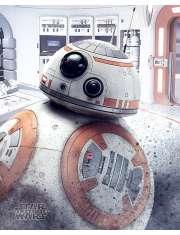Star Wars Gwiezdne Wojny Ostatni Jedi BB-8 - plakat