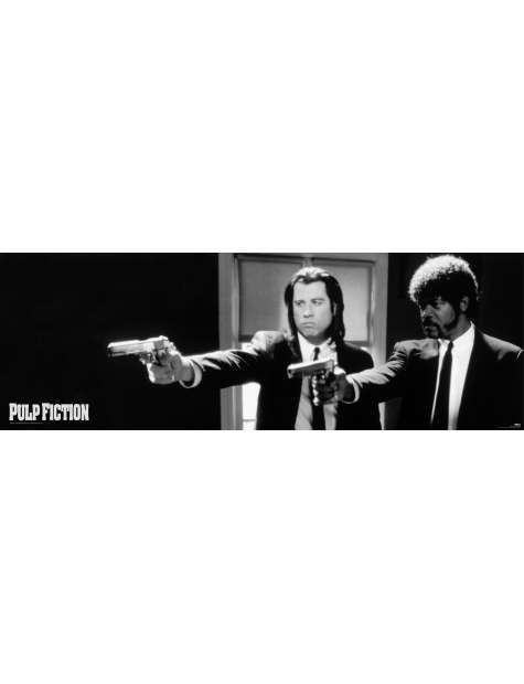 Pulp Fiction Guns - plakat