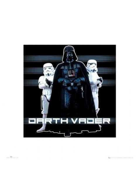 Gwiezdne Wojny Star Wars Vader i Szturmowcy - plakat premium