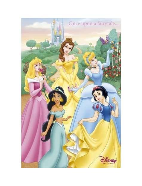 Księżniczki - Disney Princess - Dawno Dawno Temu ... - plakat