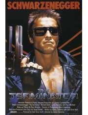 Terminator Arnold Schwarzenegger - plakat