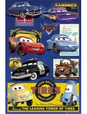 Auta - Disney Cars - Collage - plakat