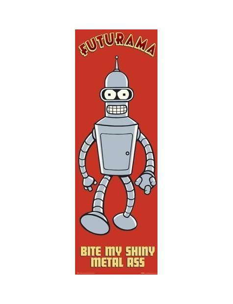 Futurama - Bite My - plakat