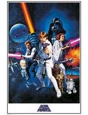 Star Wars Gwiezdne Wojny - film poster - plakat