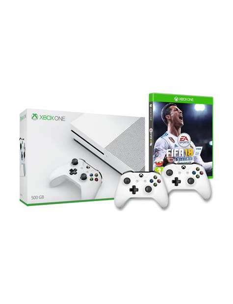 Xbox One S 500Gb   2 Pady   FIFA 18 Box-27214