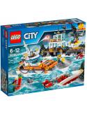 Klocki Lego City 60167 Kwatera Straży Przybrzeżnej