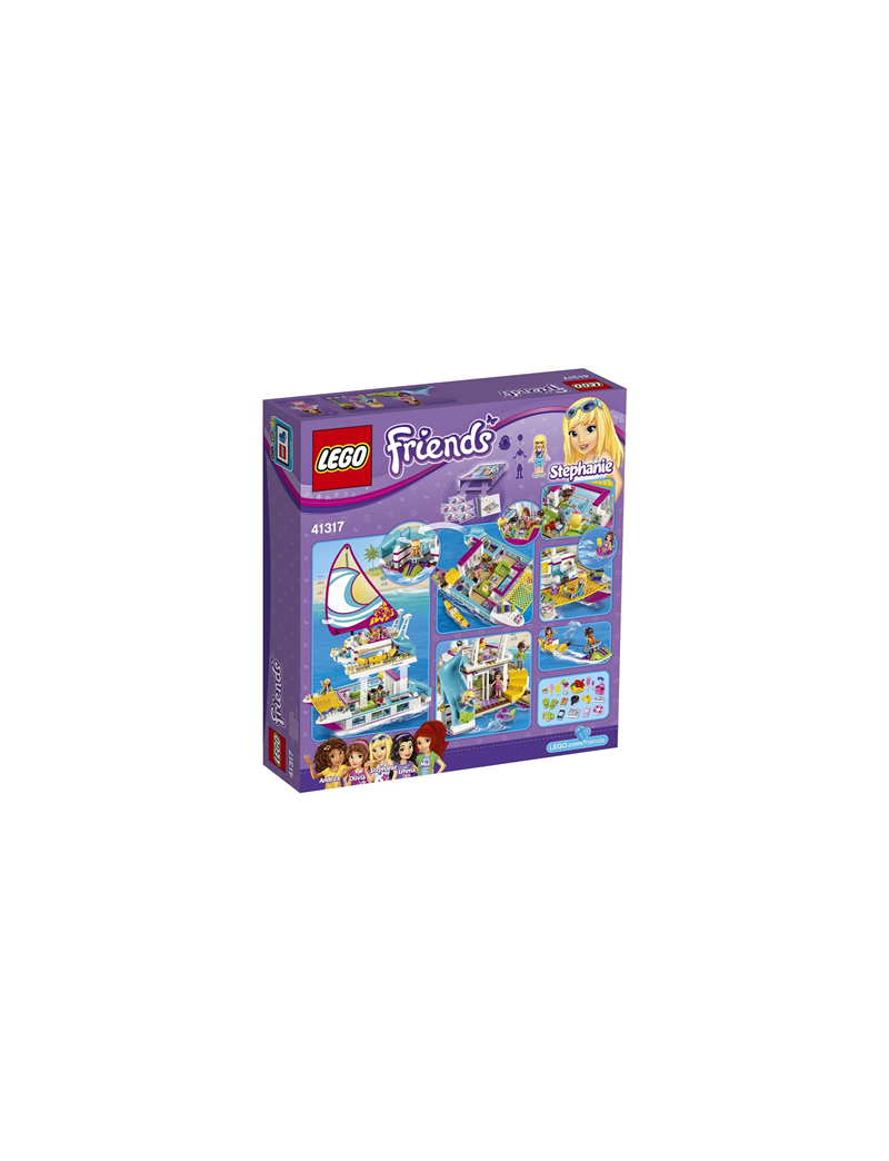 Klocki Lego Friends 41317 Słoneczny Katamaran