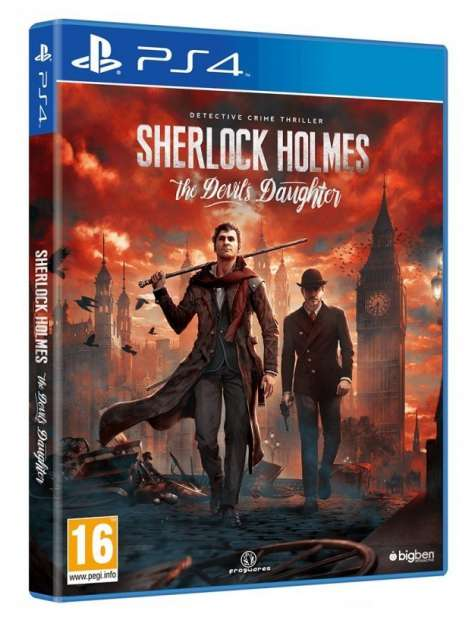 Sherlock Holmes The Devils Daughter PS4-27803