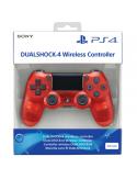Pad PS4 DualShock 4 Glacier Translucent Red V2