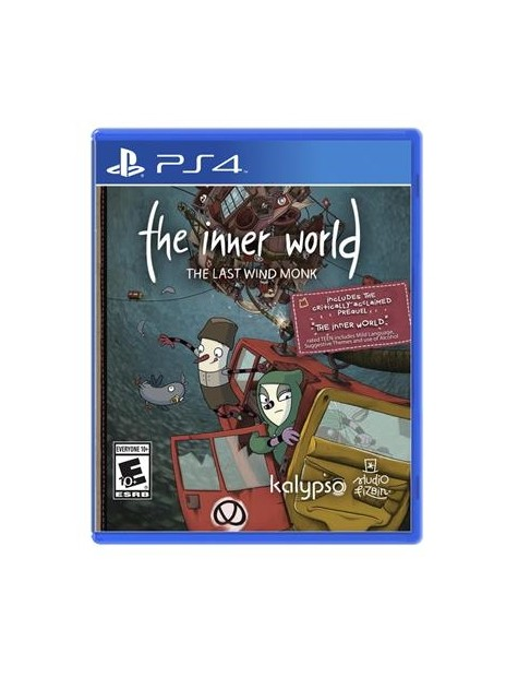 The Inner World The Last Wind Monk PS4-28046