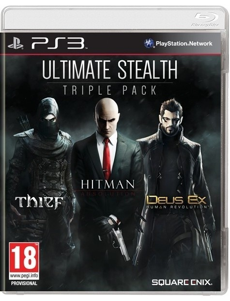 Ultimate Stealh Triple Pack Thief 10 PS3-5268