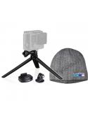 Zestaw GoPro Statyw + Czapka