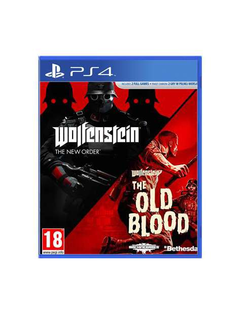 Wolfenstein The New Order/The Old Blood PS4-29628