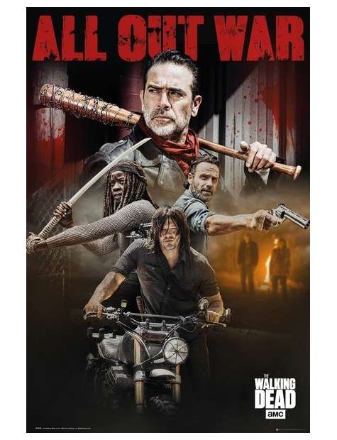 The Walking Dead All Out War - plakat