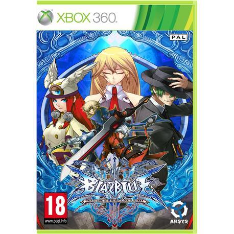 Blazblue Continuum Shift Xbox360-30916
