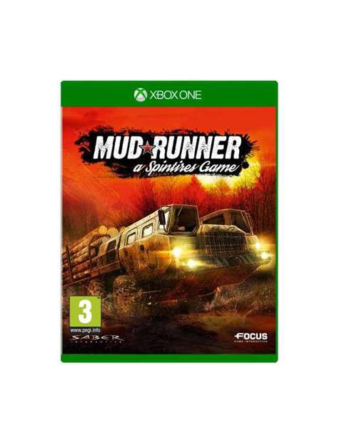 Mud Runner a Spintires Game Xone-31024