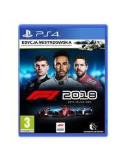 F1 2018 Edycja Mistrzowska PS4-32445