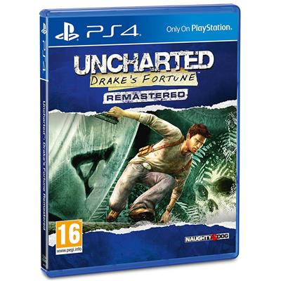 Uncharted Drake's Fortune Remastered PS4-32715