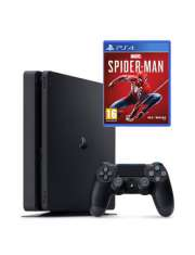 PlayStation 4 1Tb Black Slim Spiderman-33035