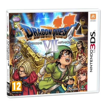 Dragon Quest VII Fragmentsof The Forgotten 3DS-21070