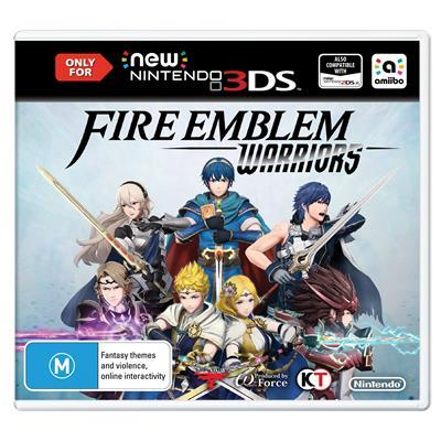 Fire Emblem Warriors 3DS-33322
