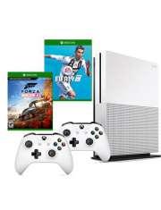 Xbox One S 1TB Fifa 19 Forza 4 2 pady-33446