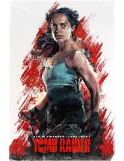 Tomb Raider - plakat premium