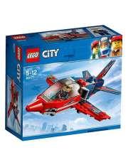 Klocki Lego City 60177 Odrzutowiec Pokazowy-35035