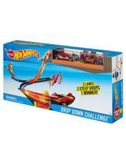 Hot Wheels Drop Down Challenge Track Set DNR54-35458