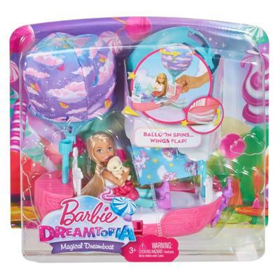Barbie Chelsea Magiczna łódka lalka-36008