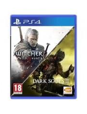 Dark Souls III Wiedźmin 3 Double Pack PS4-36246